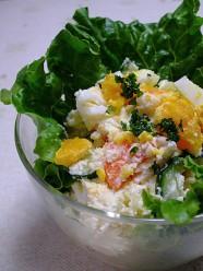 低カロリー たらこポテトサラダ