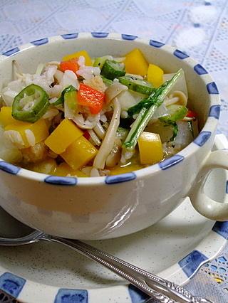 野菜めいっぱいのリゾット風