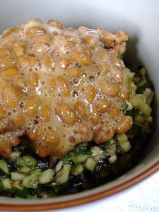 山形のだし 納豆ご飯