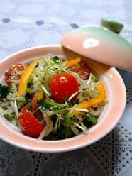 カラフル野菜のごま和え