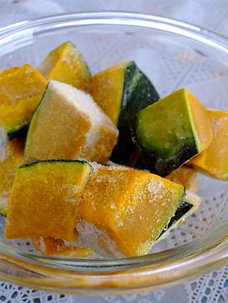 かぼちゃは生で冷凍保存できる?