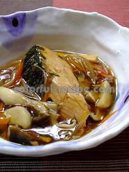 鮭の甘酢あんかけ